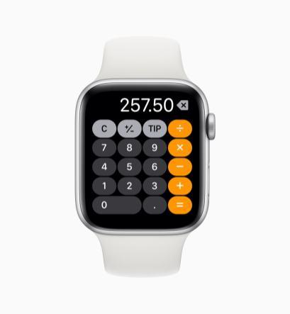 App Calculadora no watchOS 6
