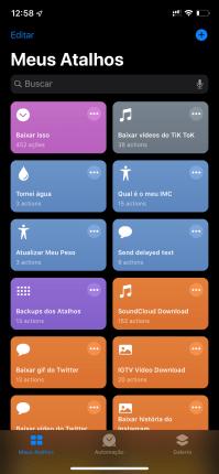 Modo Escuro no iOS 13