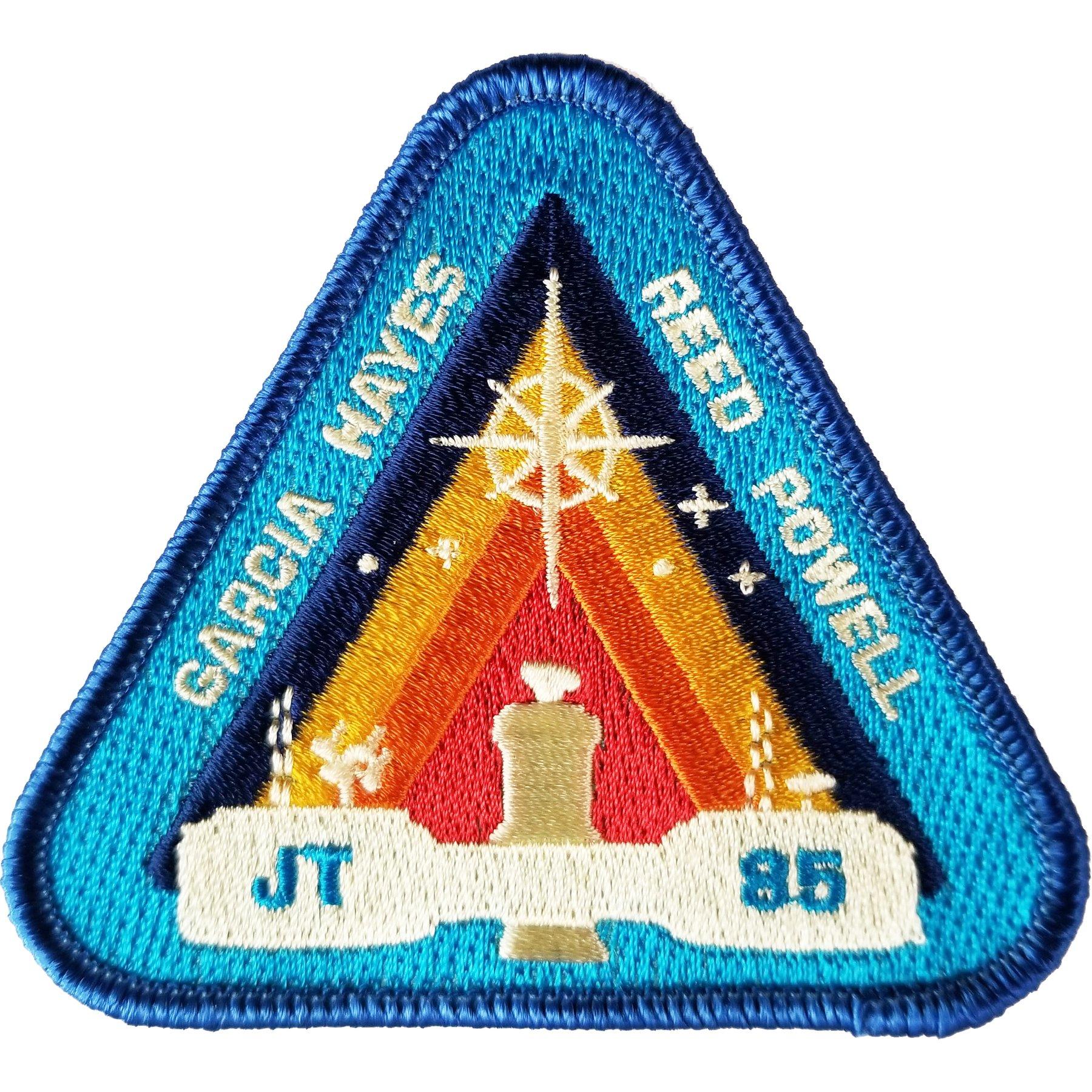 "Emblema de ""For All Mankind"""
