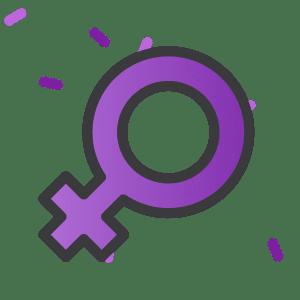 Adesivo do Desafio do Dia Internacional da Mulher