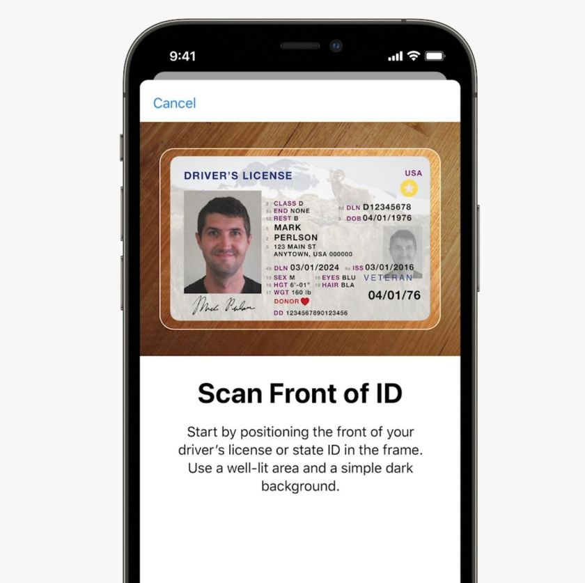 iOS 15: Documents in the Wallet app