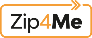 Zip4Me logo with white background