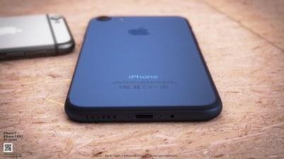iPhone azul escuro