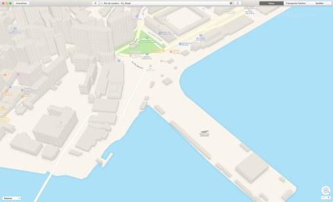 Mapas do Rio de Janeiro em 3D