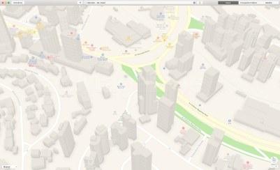 Prédios 3D em Salvador nos mapas da Apple