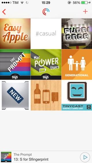 Pocket Casts para iPhone