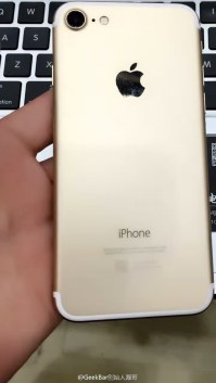 "Suposto protótipo do ""iPhone 7"""