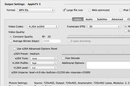 App HandBrake para macOS
