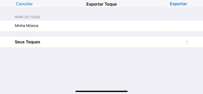 Criando um toque com o app GarageBand no iOS