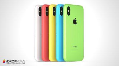 Conceito de iPhone Xc