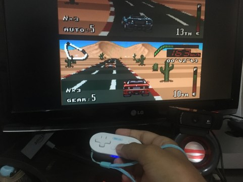 Emulador Retro X rodando no Fire TV Stick