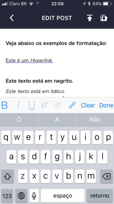 EasyBlog iOS