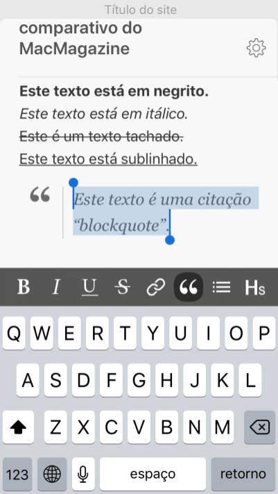 Blogo iOS