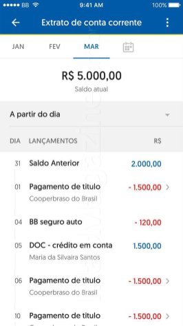 Novo app do Banco do Brasil para iOS