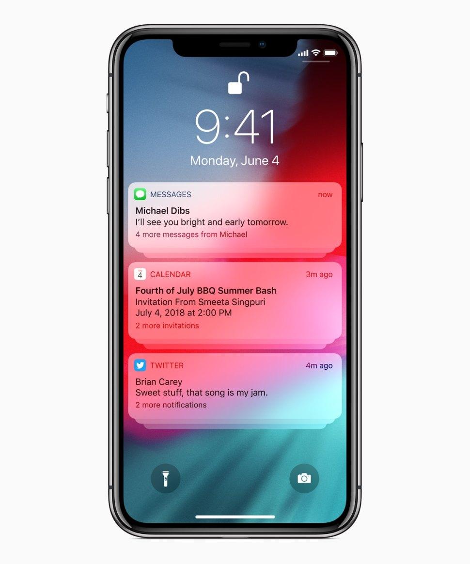 iOS 12 está agora instalado em 70% dos dispositivos