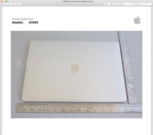 Anatel homologa novo MacBook Pro de 15 polegadas