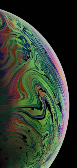 Wallpaper padrão do iPhone XS Max