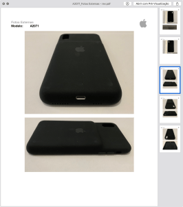 Fotos da Smart Battery Case do iPhone XS Max