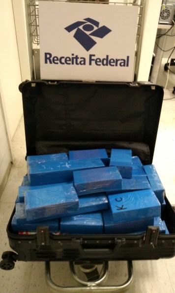 iPhones apreendidos no Aeroporto Internacional de Natal