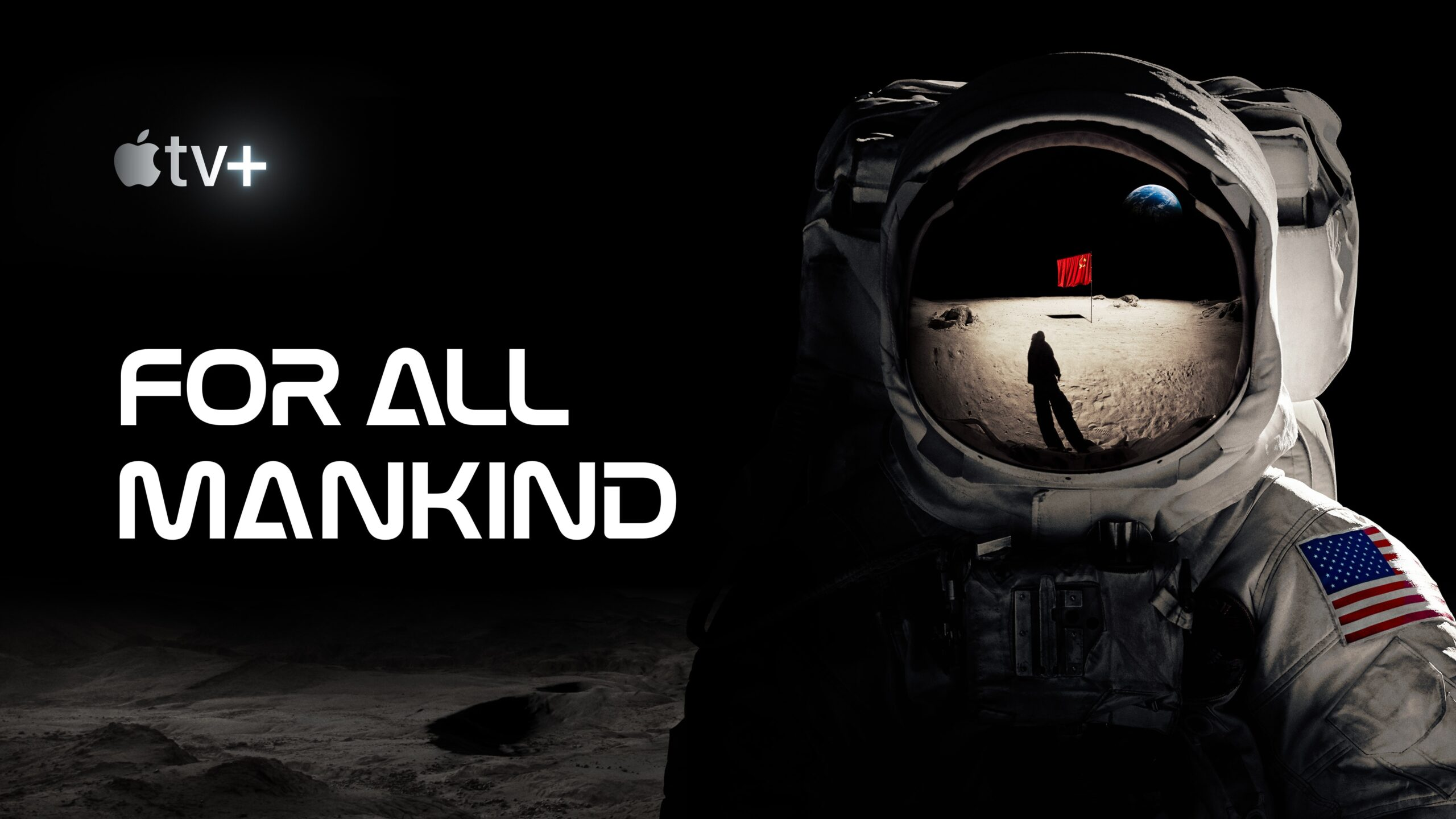 "Pôster de ""For All Mankind"""
