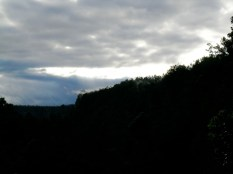 A Distant Shot of Steaming Bluff