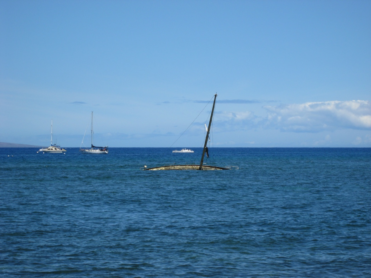 An Abandoned Boat not far from Lahaina