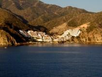 Arriving at Catalina Island