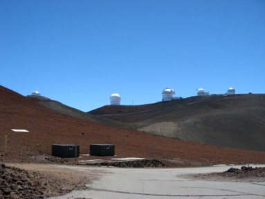 Observatories on the Mauna Kea Summit