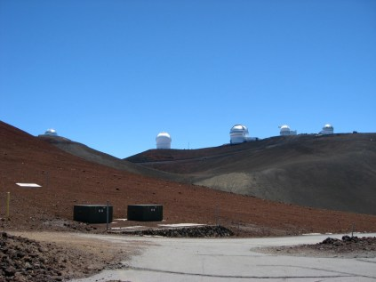 Observatories on the Mauna Kea Summit