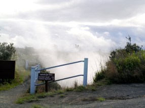 Steam from a Steam Vent on the 'Iliahi Trail