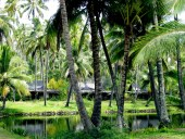 The Lagoon and King Cottages at Coco Palms