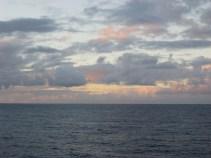 The Open Ocean at Dusk
