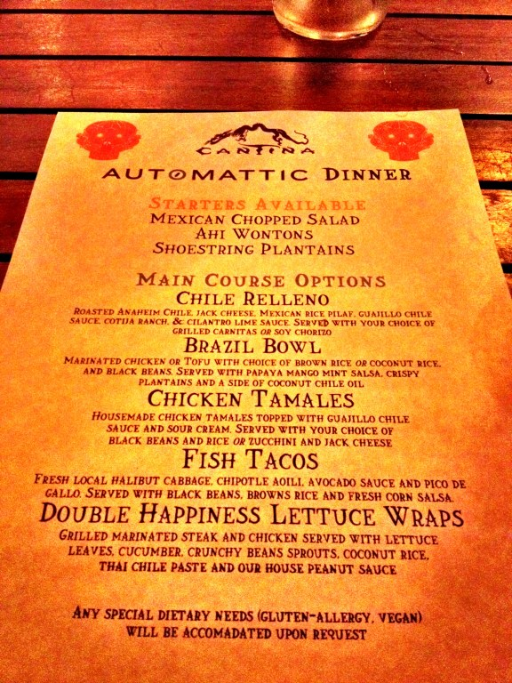 The Official Automattic Dinner