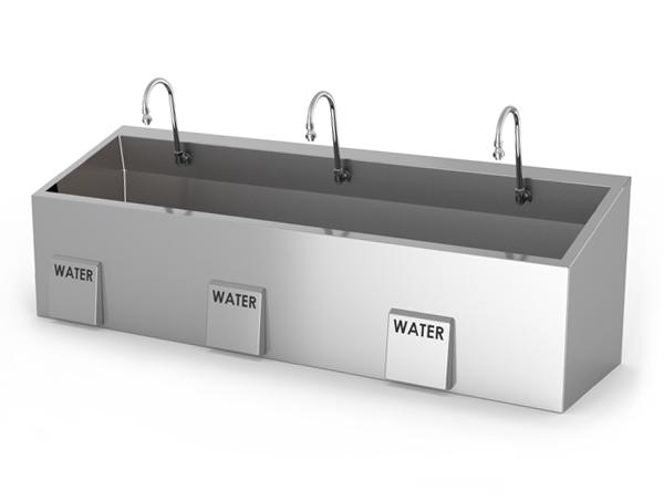 surgical scrub sink models mac