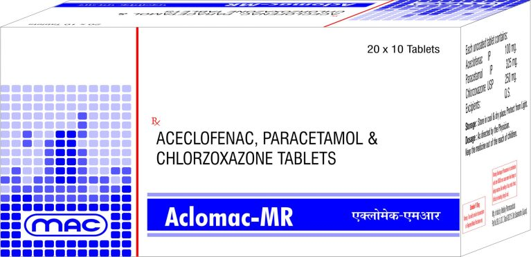 ACLOMAC MR Mac Medilife