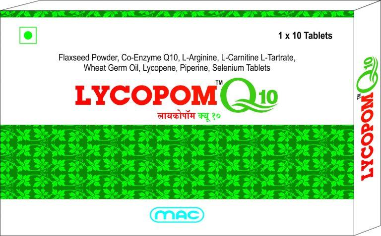 LYCOPOM Q10 Mac Medilife