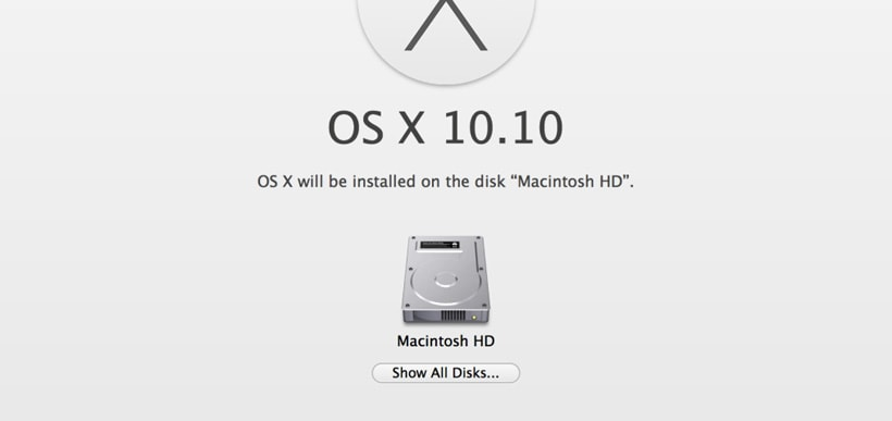 How to perform a clean install of Mac OS X using Internet