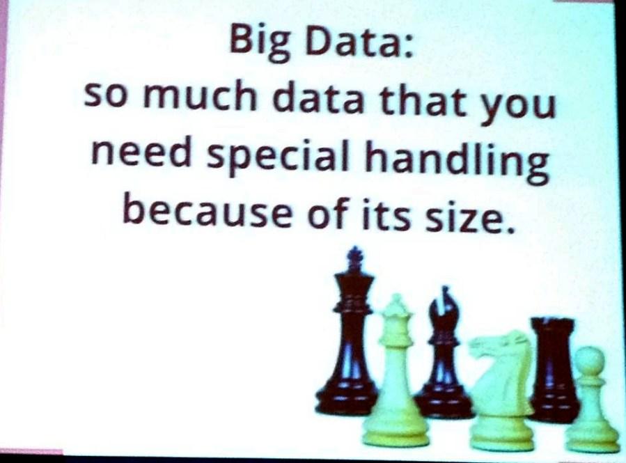 Big data defined slide