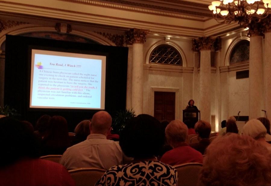 Keynote Speaker: Souzan Hawala-Druy at MLA Quad Chapter meeting 2012
