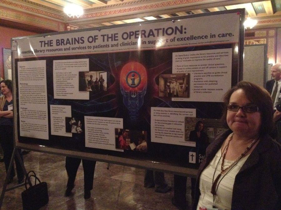 The Brains of the Operation: Connecting Library Resources and Services to Patients and Clinicians in Support of Excellence in Care poster