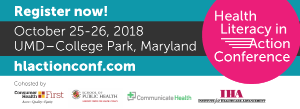 Health Literacy in Action Conference and Health Literacy Maryland Invitation
