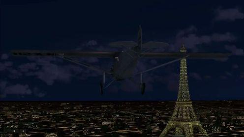 Lindbergh Flight Paris-1