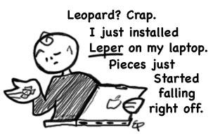 Mac OS X Leper
