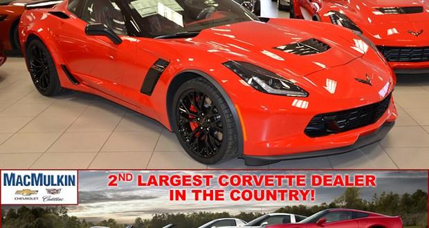 ORder you 2016 Corvette Z06 from MacMulkin Chevrolet in Nashua, New Hampshire!