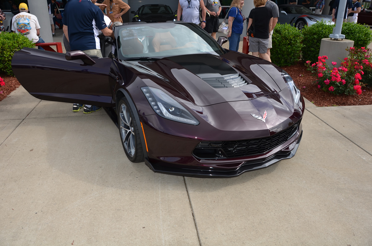 Largest Corvette Dealer >> 2017 Corvette Grand Sport in Black Rose Metallic - MacMulkin Corvette - 2nd Largest Corvette ...