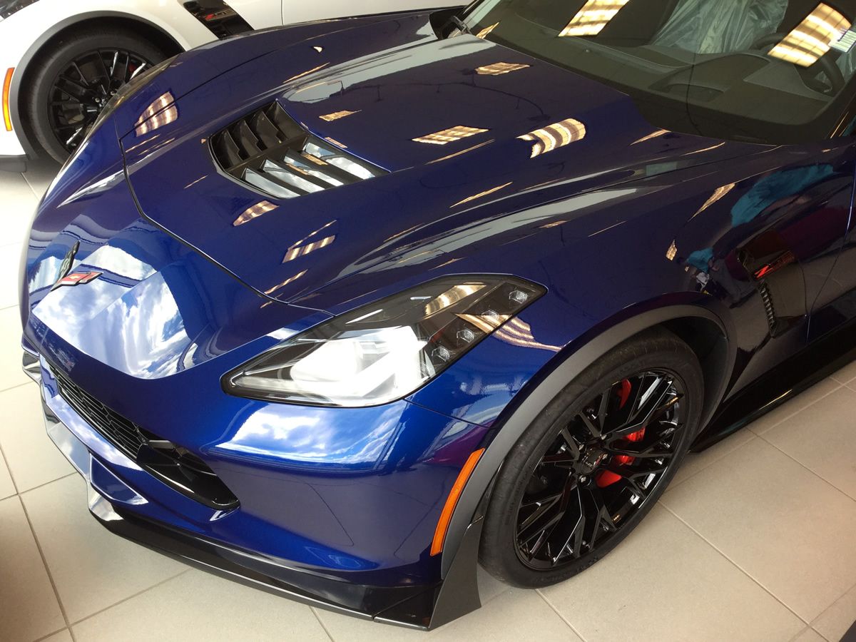 Corvette Zo7 >> Just Arrived! 2016 Corvette Z06 - Z07 - Admiral Blue - 3LZ - $107,010! - MacMulkin Corvette ...