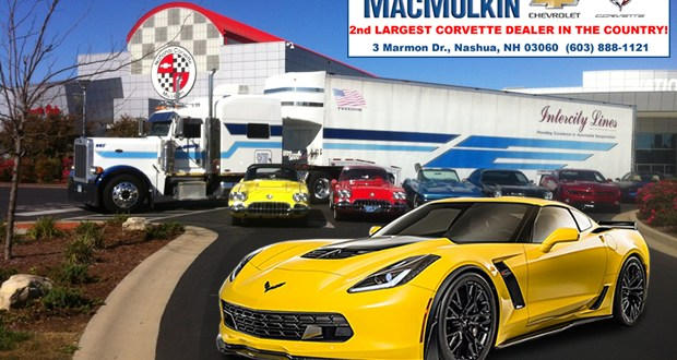 Let MacMulkin Corvette Arrange Your Corvette Shipment