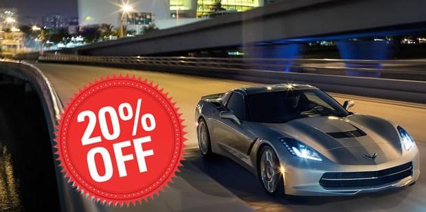2018 Corvette Sale - 20% Off - MacMulkin Chevrolet