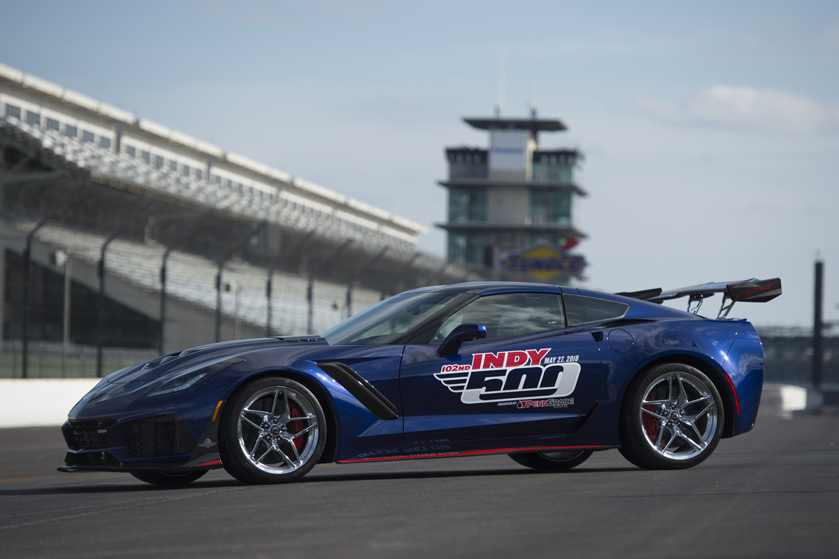 GM Press Release: 2019 Corvette ZR1 To Pace 102nd Indianapolis 500