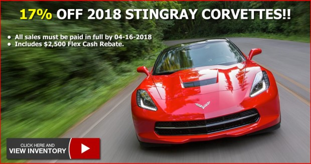 2018 Corvette Stingray Sale at MacMulkin Chevrolet
